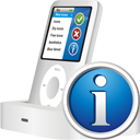 Ipod Info - icon gratuit #195449