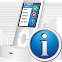 iPod-info - Kostenloses icon #195449