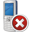 Mobile Phone Delete - icon gratuit #195489