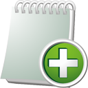 Notebook Add - icon gratuit #195529