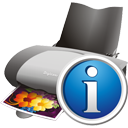 Printer Info - icon gratuit #195589