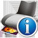 Drucker info - Free icon #195589