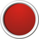 Red Button - icon gratuit #195619