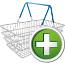 Shopping Cart Add - Kostenloses icon #195669