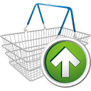 Shopping Cart Up - Kostenloses icon #195679