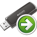 Usb Stick Next - icon gratuit #195709