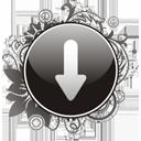 Pfeil nach unten - Kostenloses icon #195939