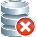 Remove do banco de dados - Free icon #195999