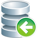 Database Previous - icon gratuit #196009