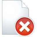 suppression de la page - icon gratuit #196029