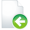 Page Previous - icon gratuit(e) #196039