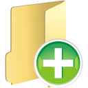 Folder Add - icon #196099 gratis