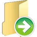 Ordner weiter - Kostenloses icon #196109
