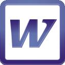Word - Free icon #196279