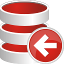 Database Previous - Free icon #196599