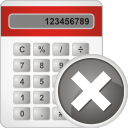 Calculator Remove - icon gratuit(e) #196889