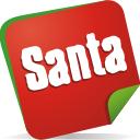 Santa-Hinweis - Kostenloses icon #197099