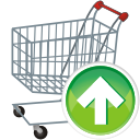 Shopping Cart Up - icon gratuit #197669