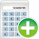 Calculator Add - Free icon #197789