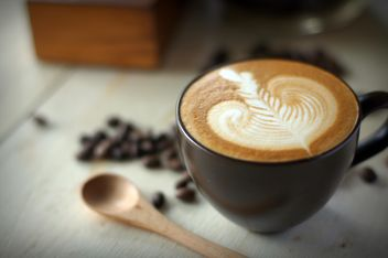 Coffee latte art - image #197849 gratis