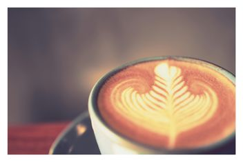 latte coffee close up - image gratuit #197899