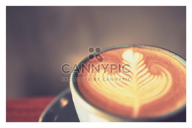 Kaffee Latte hautnah - Kostenloses image #197899