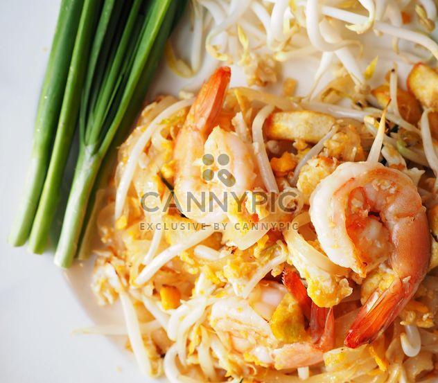 Thai food on a plate - Free image #197919