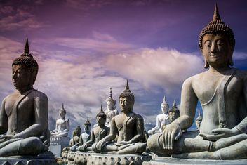 Buddha statues - Kostenloses image #197969