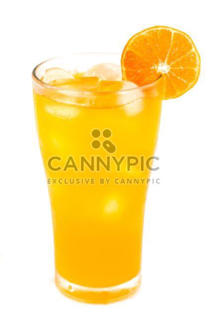 Апельсиновый сок на белом фоне - Free image #198059