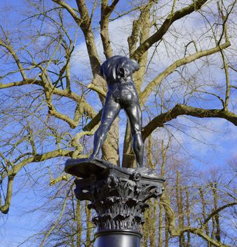 Sculpture in the park - Free image #198269