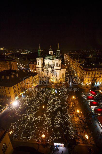 la plaza por la noche en República Checa - image #198639 gratis