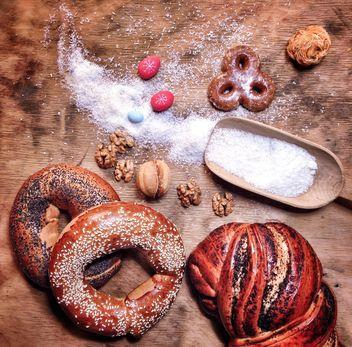 Christmas bread still life - image #198979 gratis