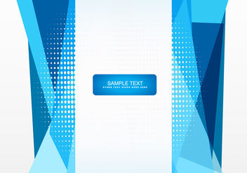 Abstract vector shape design - Free vector #199849