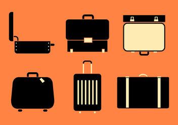 Suitcase Vectors - бесплатный vector #200099