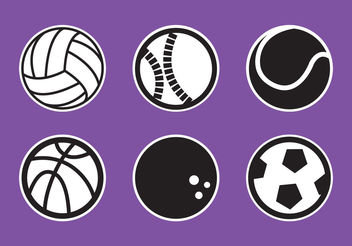 Ball Collection - vector gratuit #200249