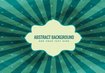 Starburst Vector Vintage Background - Kostenloses vector #200299