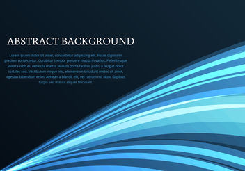 Blue Dark Background Vector - Free vector #200309
