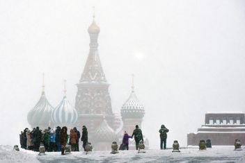 blizzard on Red Square - Free image #200349