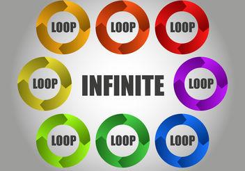 Free Infinite Circular Loop Vector - Free vector #200499