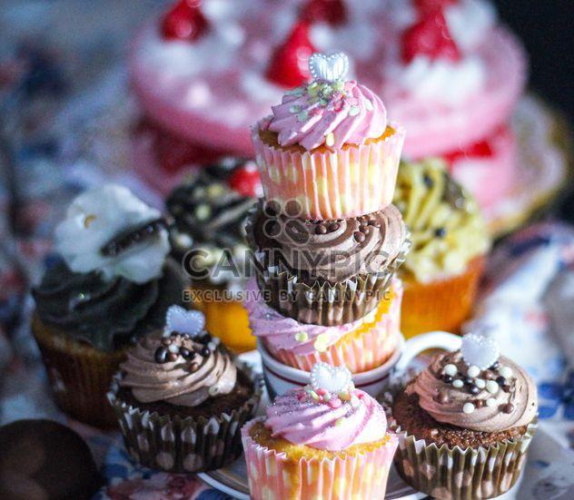 Valentine Cupcake dessert - Kostenloses image #200819