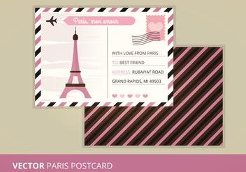 Vector Postcard - vector gratuit #200839