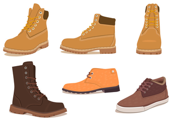 Mens winter shoes - Free vector #200889