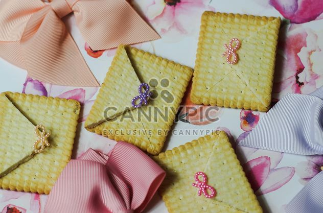 Cookies With A colorful Bows - Free image #200999