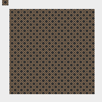 Awesome Brown Decorative Pattern Vector - Free vector #201889