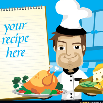 Chef Vector Cartoon - Kostenloses vector #202249