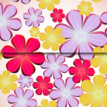 Free Beautiful Flowers Vector - Free vector #202549