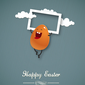 Easter Vector Illustration 23 - Kostenloses vector #202869