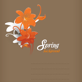 Floral Background 34 - Free vector #202949