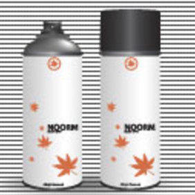 Free Vector Noor Body Spray - Free vector #203359