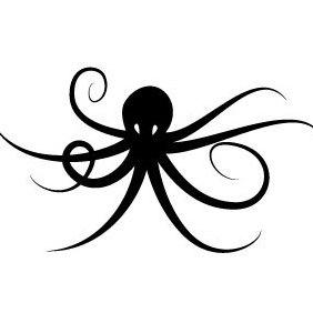 Octopus Vector - vector #203599 gratis